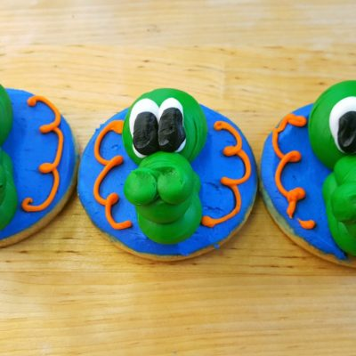 Florida Gators, University, Albert, Football, tailgate, cookies, party, favors, cinottis, bakery, jacksonville, beach