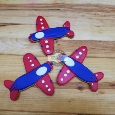 airplane, cookies, boys, theme, transportation, birthday, kids, cookies, jacksonville, beach, bakery