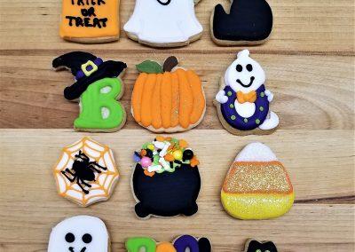 Mini Halloween Cookie Sets