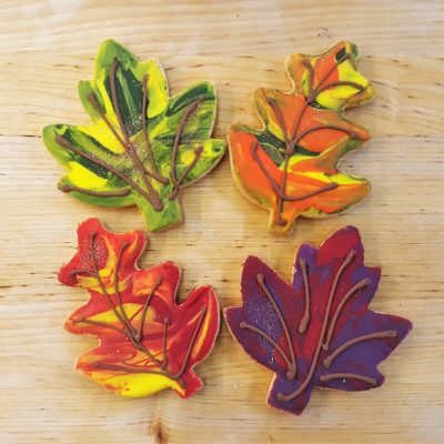 Fall Leaves,rustic, leaves, autumn, cookies, Bakery, Cinottis, Jacksonville, beach, party, yummy, dessert