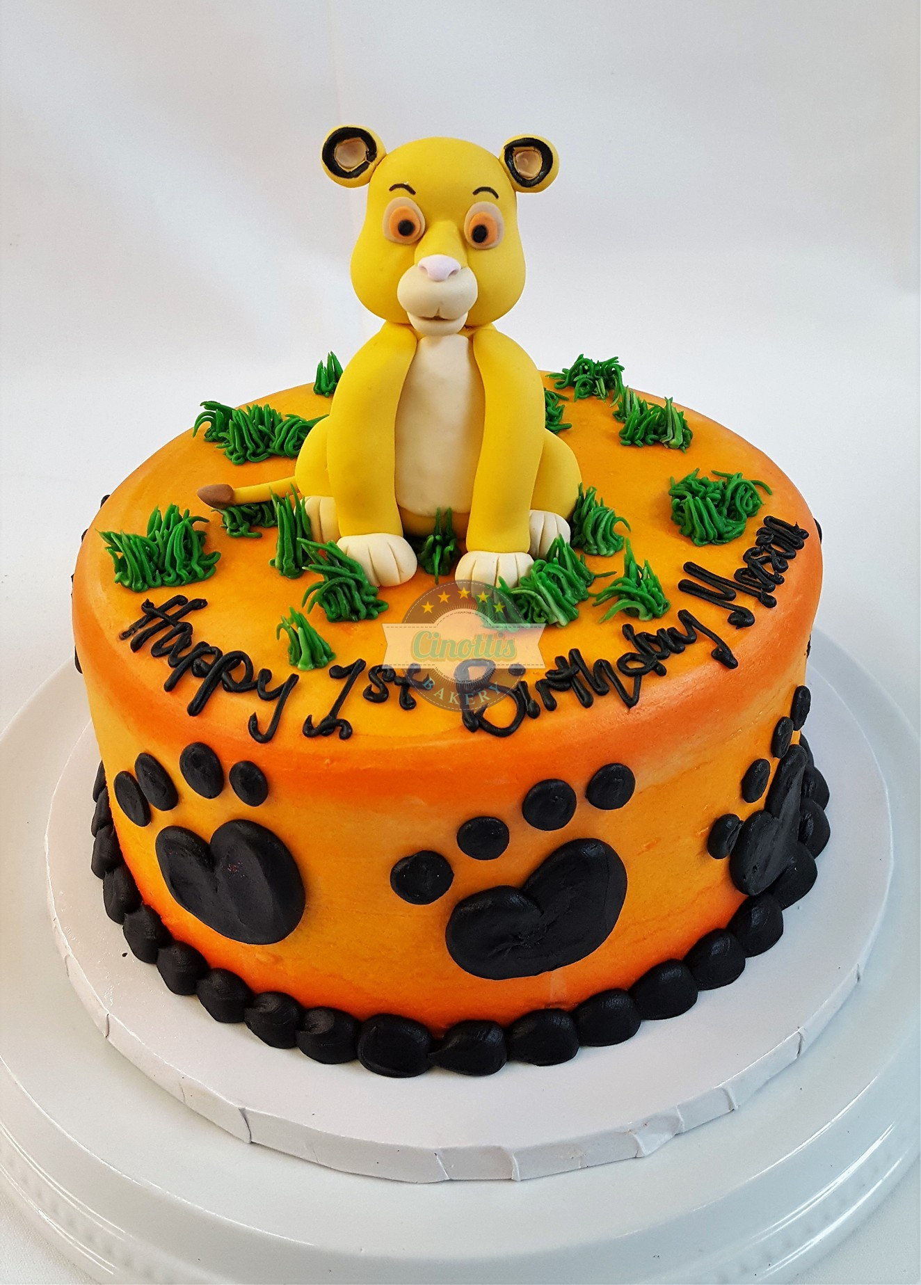 Awe Inspiring Cakes And Cupcakes Cinottis Bakery Personalised Birthday Cards Paralily Jamesorg