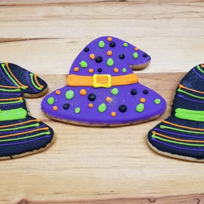 Witch's Hat, Halloween,Pumpkin, cookies, fall, rustic, party, favor, place, setting, patch, cinottis, bakery, jacksonville, beach