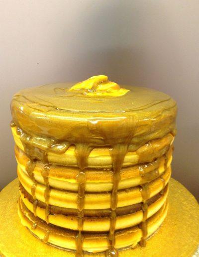 pancakes cake, stack, food, fun, cute, birthday, breakfast,themed, party, jacksonville, beach, bakery