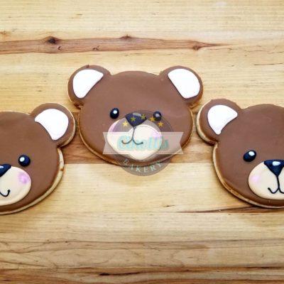 Teddy Bear Iced Cutout, Cinottis Bakery, Jacksonvi