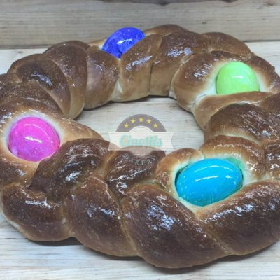 Easter Wreath, Eggs, Cinotti's Bakery