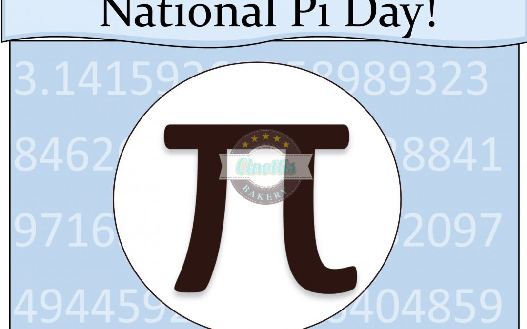 Pi, Pie, Pi!  It's National Pi Day!