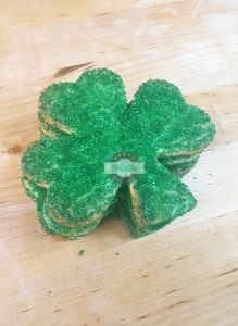shamrock cookies, sugar, St. Patricks Day, Cinotti