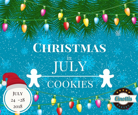 Christmas in July Cookies