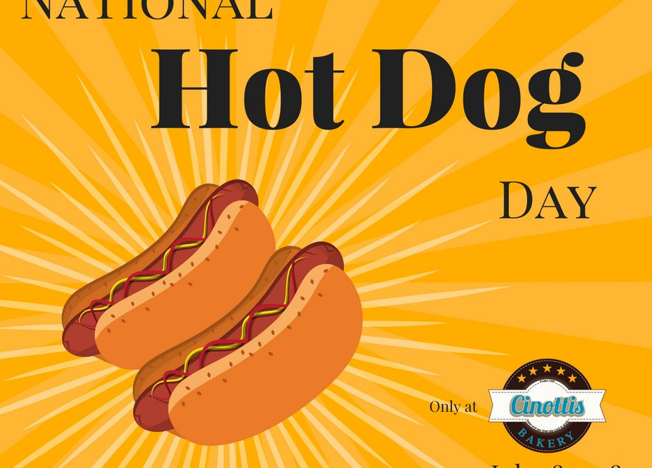 National Hot Dog Day DEALS!