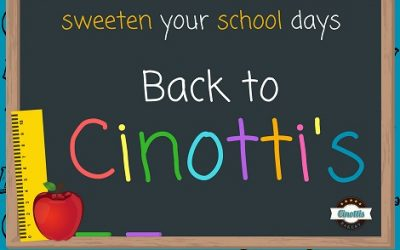 Back to School & Back to Cinotti's