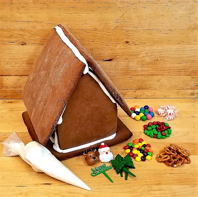 Swell Gingerbread House Kit Decorate Your Own House Cinottis Bakery Download Free Architecture Designs Rallybritishbridgeorg