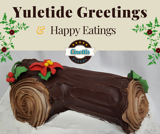 Yuletide Greetings and Happy Eatings!