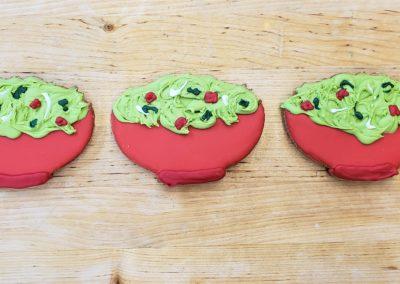 Guacamole cookies