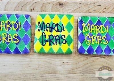 Mardi Gras Plaque