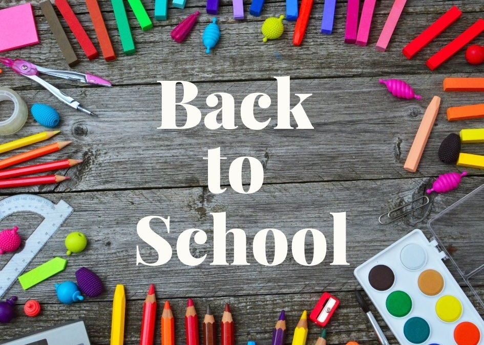 Back to School…Again!