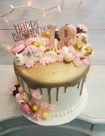 Gold & Pink Surprise