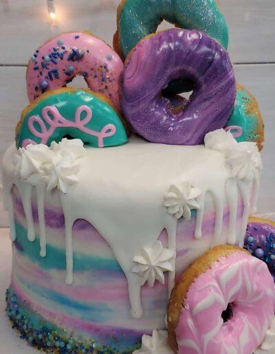 Frosty Donut Drip